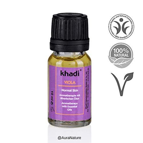 Khadi: Gesichts- und Körperöl Viola: Khadi: Groesse: Viola Öl 10 ml (10 ml) - Blüten-parfüm-körper-Öl