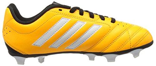 adidas Goletto V Fg, Scarpe da Calcio Unisex – Bambini, 38 EU Giallo (Solar Gold/Ftwr White/Core Black)