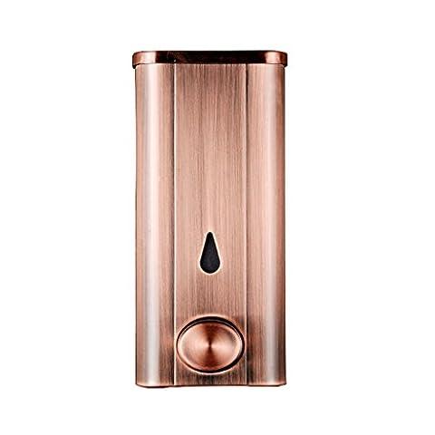 Seifenspender Edelstahl Hotel oder Bad Wandmontage Pumpen, Retro Verhindern Rost Geeignet für Dispensing Duschgel, Shampoo, Waschlotion ( Farbe : #1 )