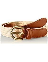 Cortefiel Trenza Cuerda TE, Cinturón para Hombre