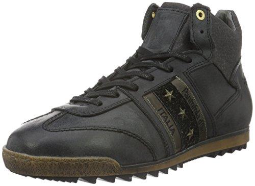 Pantofola D'OroImola Adesione Vecchio Uomo Mid - Scarpe da Ginnastica Basse Uomo , Nero (Schwarz (.25Y)), 43