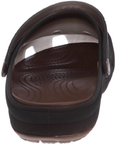Crocs Translucent Clog, Unisex - Erwachsene Clogs/Pantoletten Braun - Marron (Espresso/Bronze)