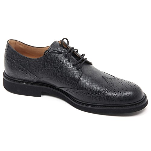 B8327 Anglais Chaussure Homme Tods Chaussure Crevaisons Chaussure Noire Homme Noir