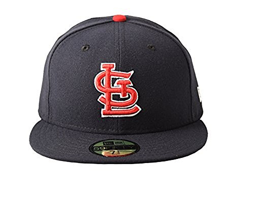 New Era St. Louis Cardinals Authentic On-Field 59FIFTY Fitted MLB Cap ALT, 7 5/8 -