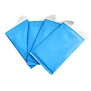 ULTNICE 4pcs Unisex Einweg Urinal Taschen Kurze Relief Super Absorbent Packs für Reise Auto Traffic Jam Camping (blau)