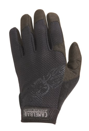 Vent Gloves Black Logo (XXL)