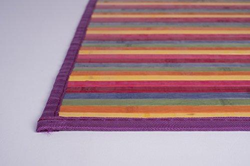 Bertha Hogar - Alfombra Bambú Kanda, multicolor (120_x_180_cm)