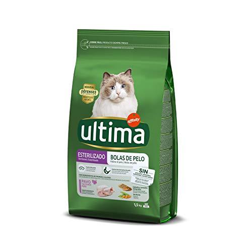 Ultima Cat sterilizzati controllo palline pel0 1,5 kg