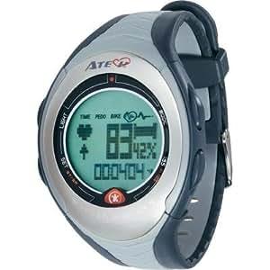 Montre cardio avec ceinture pectorale Atech Speed Master gris-bleu