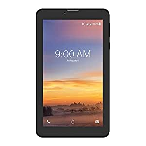 Lava Ivory+4G T71 Tablet (7 inch, 8GB, Wi-Fi + 4G LTE, Voice Calling), Black