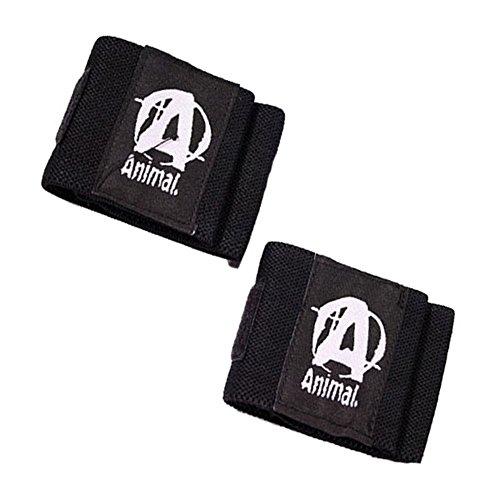 Universal Wrist Wrap (Universal Nutrition Wrist Wraps Animal Solide hebt Unterstützung & Stabilität schwere Grip)