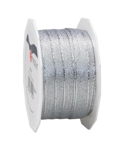 Pattberg Präsent 10 mm 20 m WIEN - Lurexband, silber