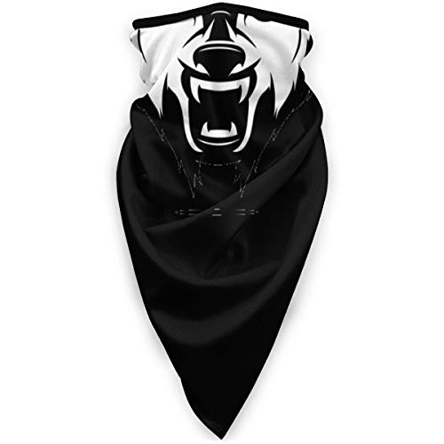 CAP PILLOW HOME Half Face Mask with Earloop Windproof Men Women Wild Wolf Face for Skiing Snowboarding Motorcycling Winter Outdoor Sports Highly Breathab