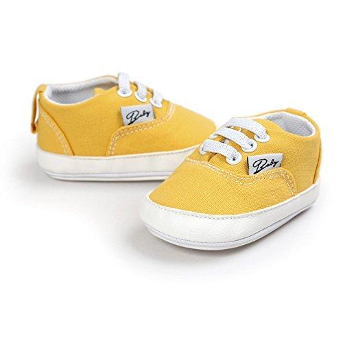 MiyaSudy Neugeboren Baby Jungen Mädchen Casual Sneaker Anti-Rutsch Babyschuhe Erste Wanderer Schuhe für 0-18 Monate #K