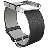 Fitbit Blaze, Accessory Band, Small (Leather/Black)