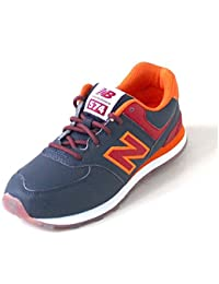 New Balance 574 navy/red