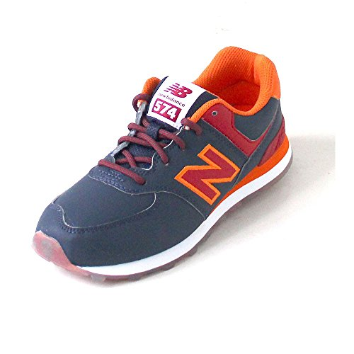 New Balance Unisex-Kinder K_574v1 Low-Top Marine