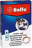 Bolfo Zecken- und Flohschutzband braun für Katzen und kleine