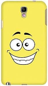 Kasemantra Happy Face Case For Samsung Galaxy Note3 Neo