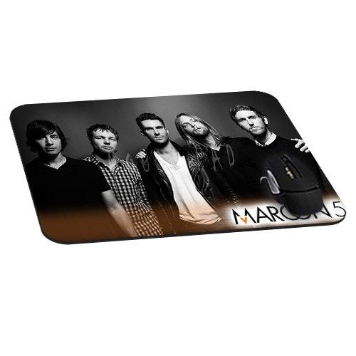 Maroon 5Band Mauspad natur rubber-rectangle Mousepad Gaming und Büro Maus pad-mousepads für Geschenk (22,1x 18x 0,3cm) -