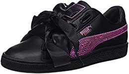 puma Basket Bling nero