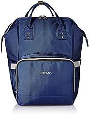 Amazon Brand - Solimo Baby Diaper Bag, Blue