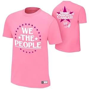 S bis 5XL!!! In allen Größen erhältlich (Bitte eine Nachricht mit ihrem Größenwunsch senden)!!! Authentic T-Shirt WWE JACK SWAGGER/ANTONIO CESARO-WE THE PEOPLE Rise Above Cancer 2013