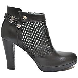 Nero Giardini Tronchetti scarpe donna nero 7005 P717005D