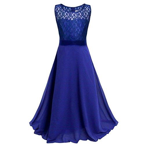 Layered Tube Top (Mädchen-Hochzeits-Kleid, Qlan GirlsChild-Spitze-formales Kleid-langer Abschnitt Chiffon Tube Top Abendkleid)