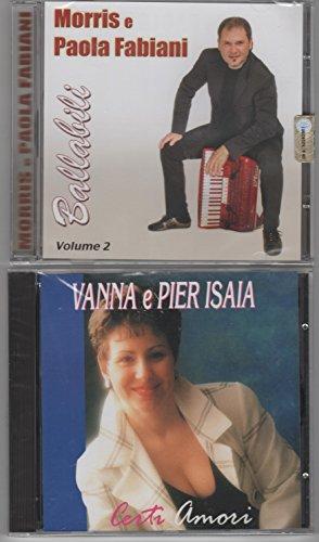 PACCHETTO 10 CD W IL LISCIO:BALLABILI VOL. 2 MORRIS E PAOLA FABIANI - CERTI AMORI VANNA E PIER ISAIA - ORCHESTRA CAMILLO SANTA MARIA - FACCIAMO L'AMORE ANTONELLA RUSSO - INCONTRAIMOCI CAMILLO SANTAMARIA - ORCHESTRA LISCIO SOLARE LA DONNA DEL FUTURO - ROCKING ROCK AROUND THE CLOCK - CLAN ITALIANO IL TALISMANO - CLAUDIO PISCINA SE TU LO VUOI - ROMMY BIMBA MIA