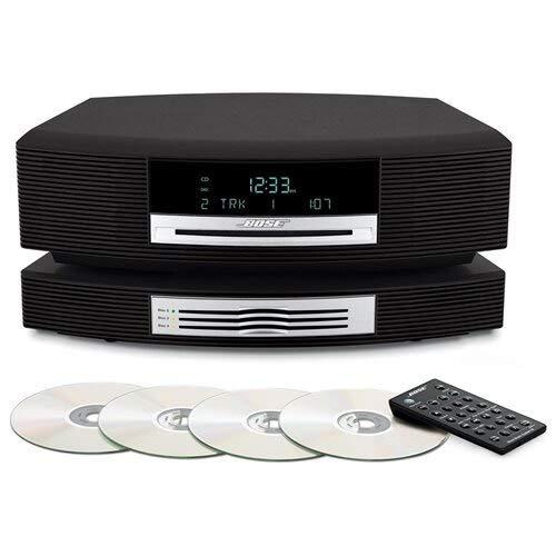 Bose Wave Music System III with Multi-CD Changer; Arbeitet Mit Alexa und Drahtloser Streaming-Adapter, 230V EU/AP Version