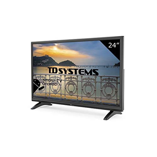 TD Systems K24DLM8HS - Televisor Led 24 Pulgadas HD Smart,...