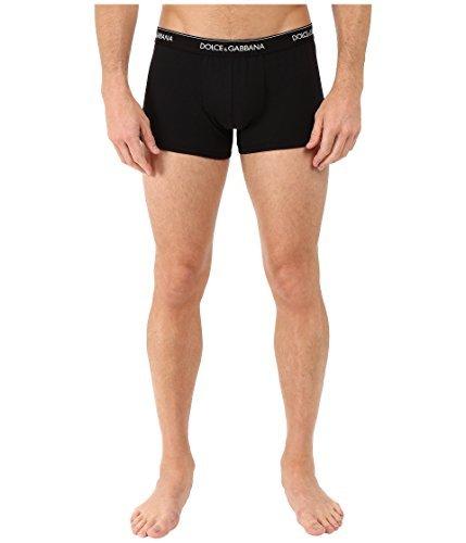 Dolce & Gabbana Herren Boxershorts Regular Boxer Day by Day N9A07J, Farbe:Schwarz;Wäschegröße:L;Artikel:-N0000 black (Unterwäsche Gabbana)