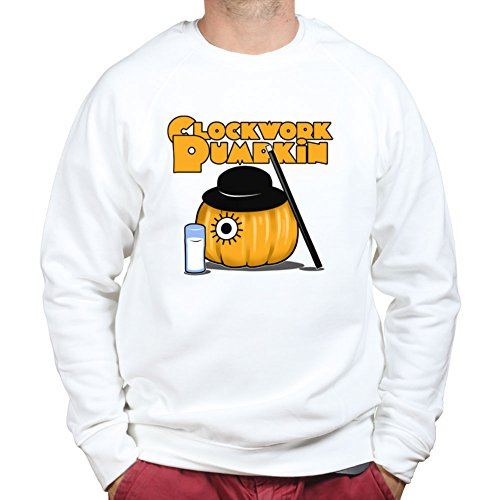 oweenSweatshirtSweaterWHT3XL XXXL White (Clockwork Orange, Halloween)