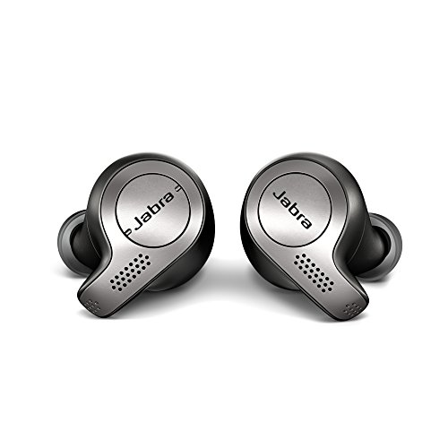 Jabra Elite 65t True Wireless Bluetooth Earbuds with Charging Case  One-touch Amazon Alexa - Titanium Black