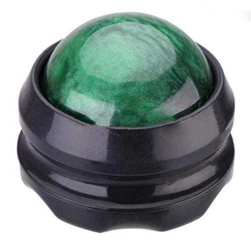 Massage-Ball-Schmerz-Entlastungs-Massage-Roller-Ball entlasten Nacken-Schulter-Muskel-Wunde Selbstmassage-Therapie und entspannen Sich (Farbe : Grün, größe : One Size) -