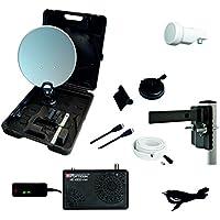 Opticum campeggio, balcone o HDTV (incl.–Impianto satellitare HD X300Mini ricevitore satellitare, Single-LNB, cavo (10m), cavo HDMI) prezzi su tvhomecinemaprezzi.eu