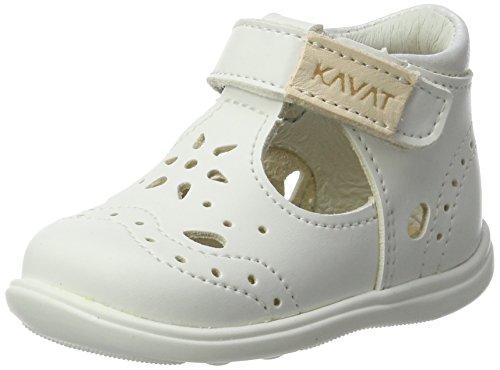 Kavat Baby Mädchen Ängskär Lauflernschuhe, Weiß (White), 22 EU