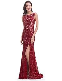 9bddffd196b Ever Pretty Women s Elegant Lace Sleeveless Long Evening Dress 08859