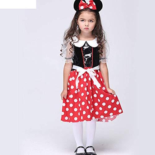 achten Kinderkleidung Mickey führt Tanzkostüm Cosplay Kostüm ()