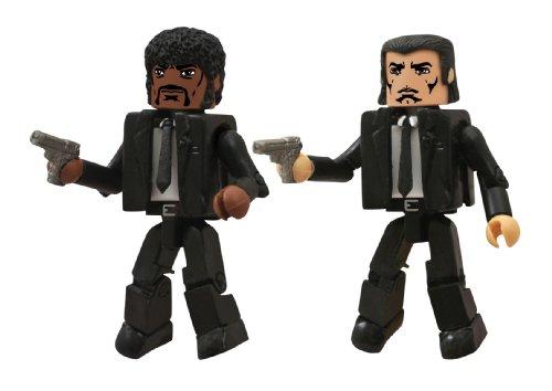 Diamond Select Toys Caminante: Pulp Fiction Jules y Vincent–Figura de acción (2-Pack)