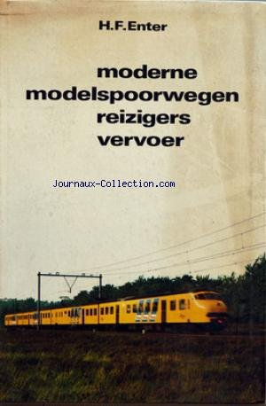 DIVERS - H.F. ENTER - MODERNE MODELSPOOWEGEN REIZIGERS VERVOER