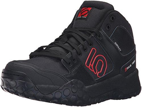 Five Ten MTB-Schuhe Impact High Schwarz/Rot