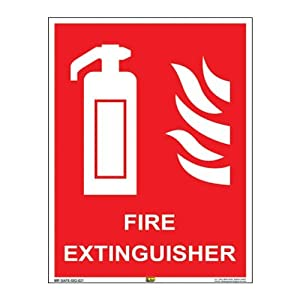 Mr. Safe – Fire Extinguisher Sign PVC Sticker A3 (11.7 inch X 16.5 inch)