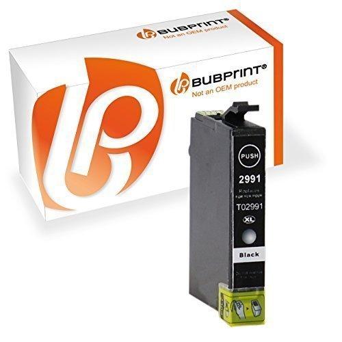 Bubprint Druckerpatrone kompatibel für T2991 XL T2991XL 29 29XL Epson Expression Home XP 342 XP-245 Tinte Schwarz