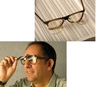 Good Ideas Sur-lunettes loupes à clipser Grossissement x3