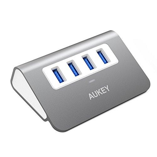 aukey-hub-usb-30-4-porte-superspeed-in-alluminio-con-cavo-usb-30-50cm-per-imac-macbook-air-macbook-p