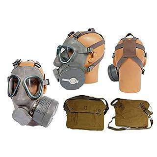 Armeeware Schutzmaskenset Standardmodell mit Filter und Tasche neuwertig Gasmaske ABC-Ausrüstung