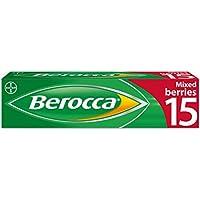 Berocca Mezclado Frutos Del Bosque Sabor-15 Pastillas