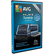 AVG TuneUp 2020   Dispositivos Ilimitados   1 Año